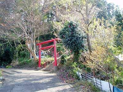 志賀神社入口